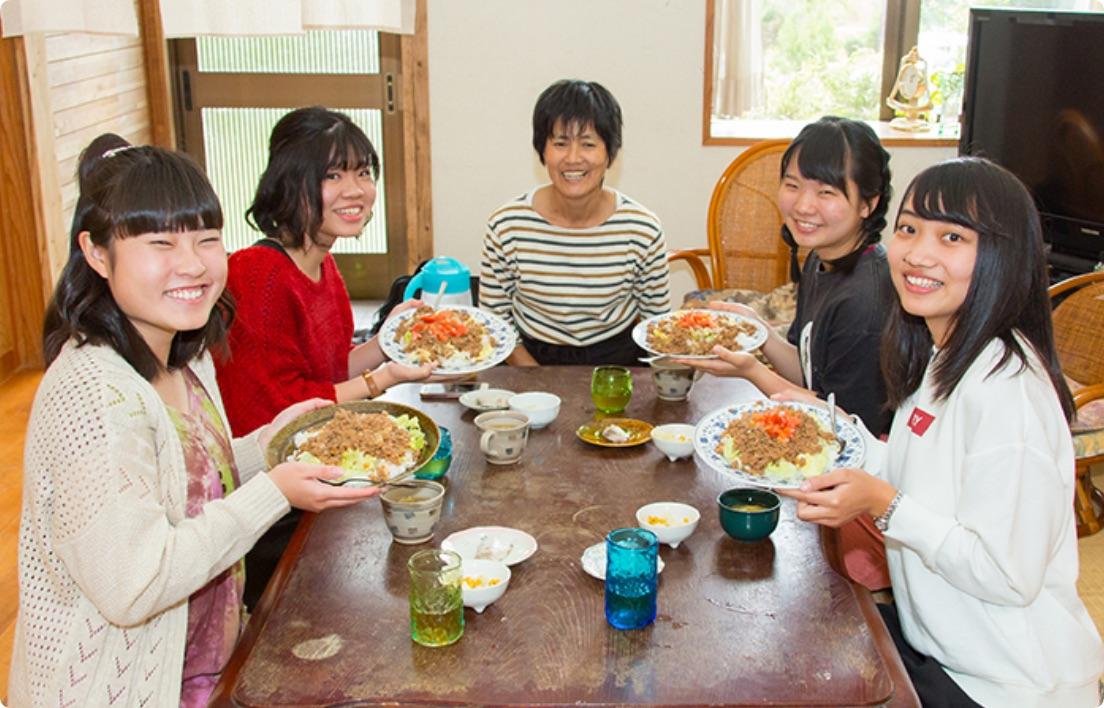 料理作り体験